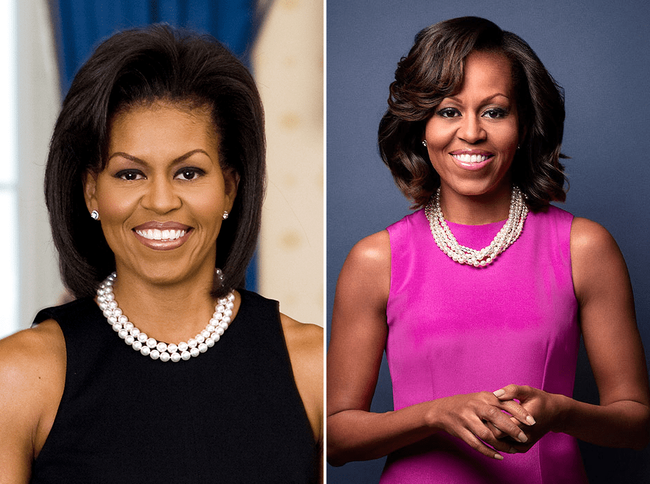 Michelle Obama pérolas